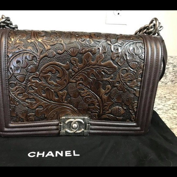 e747cb56ff5a9f CHANEL Bags | Dallas Paris Boy Bag Tooled Rare | Poshmark